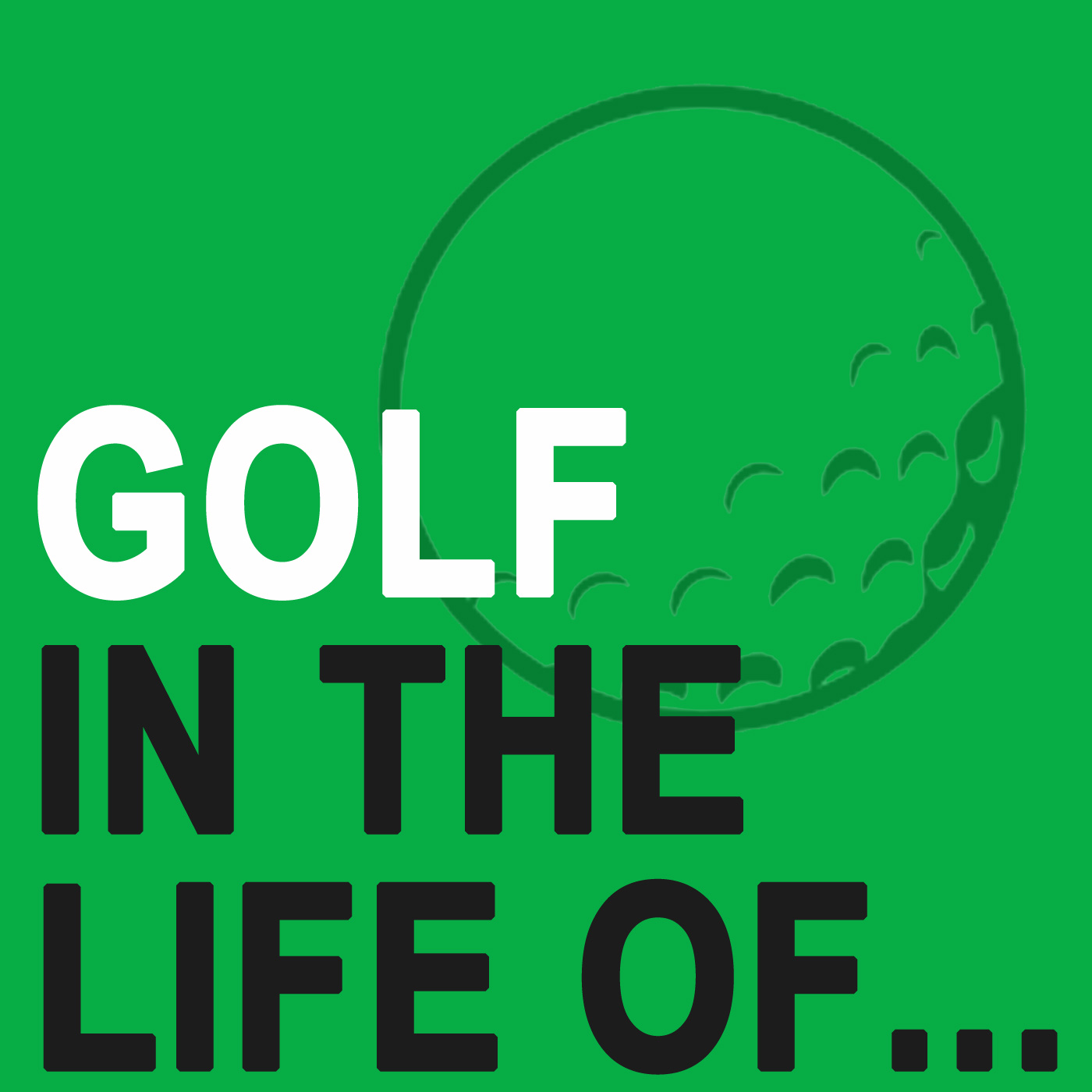 GOLF IN THE LIFE OF show art