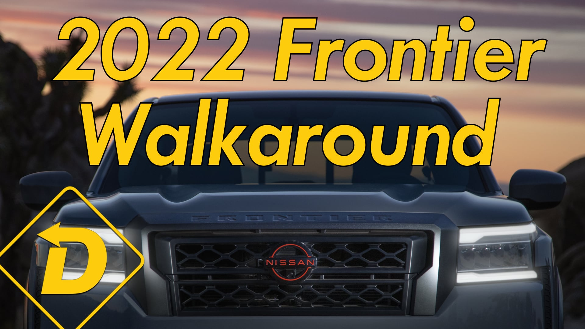 Up Close And Personal With The New 2022 Nissan Frontier Design