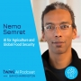 Artwork for AI for Agriculture and Global Food Security with Nemo Semret - #347
