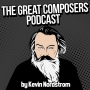 """Artwork for 33 -  Johannes Brahms, pt. 1 """"A Cup Half Full"""" - Classical Music Podcast"""