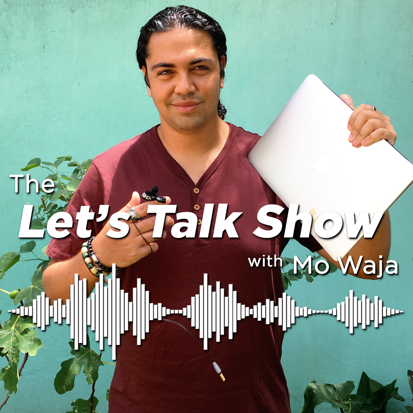 The Let's Talk Show with Mo Waja show art