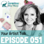 Artwork for 051: Your Artist Talk with Speaker Coach Tricia Brouk