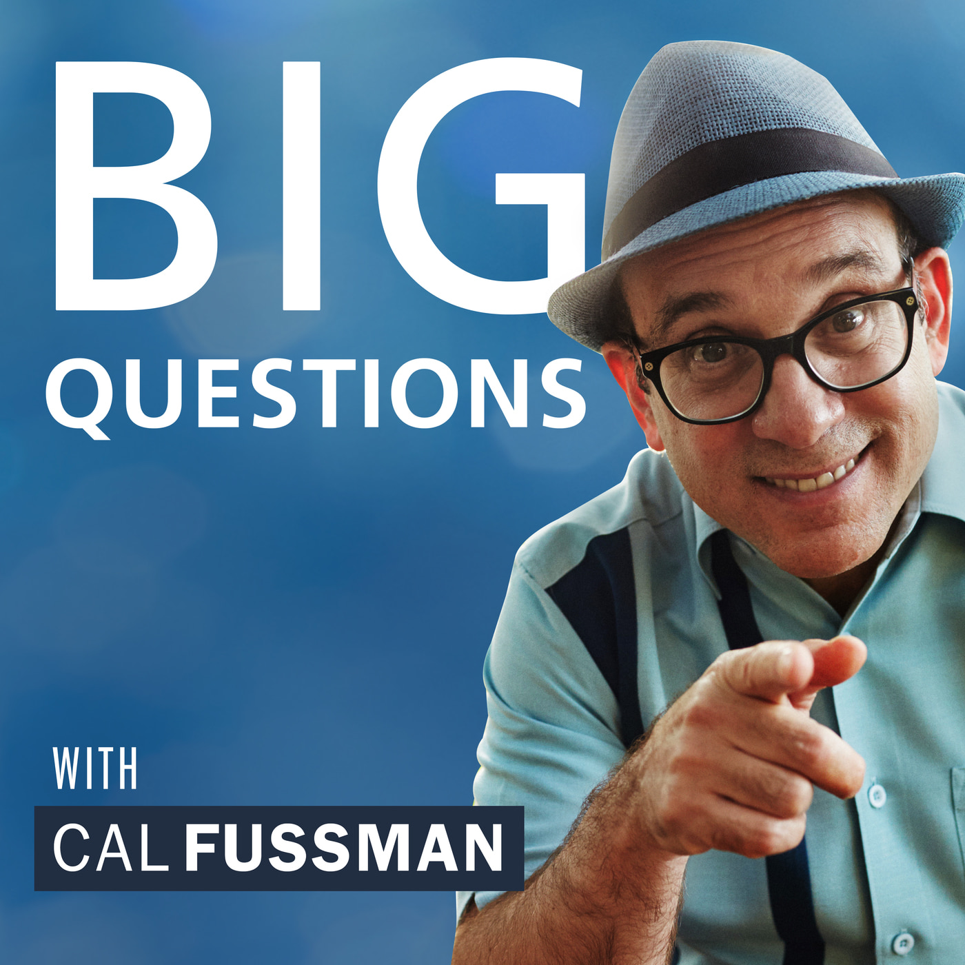 Big Questions with Cal Fussman show art
