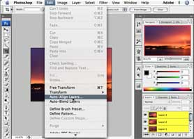 Create Panoramic Photos in Photoshop CS3