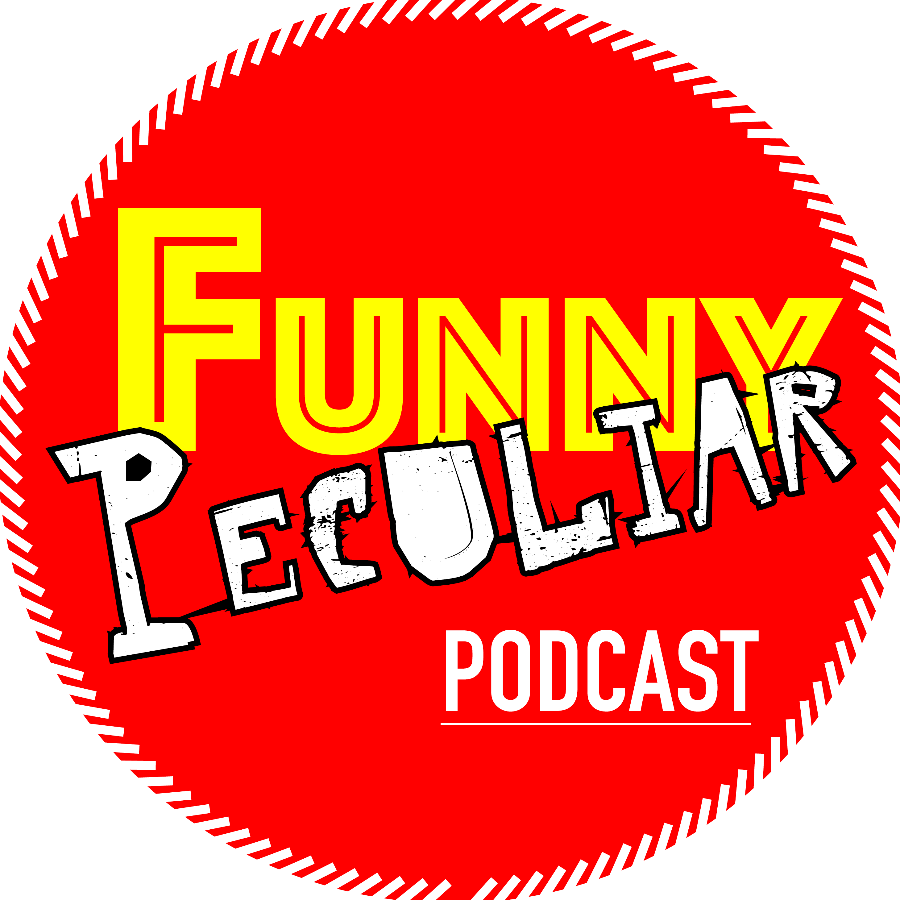 Funny Peculiar Podcast show art