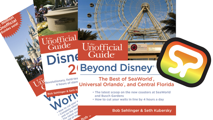 "tspp #319- Birth of the Unofficial Guide w/ Bob Sehlinger, plus Seth Kubersky --""Beyond Disney!"" 12/23/15"