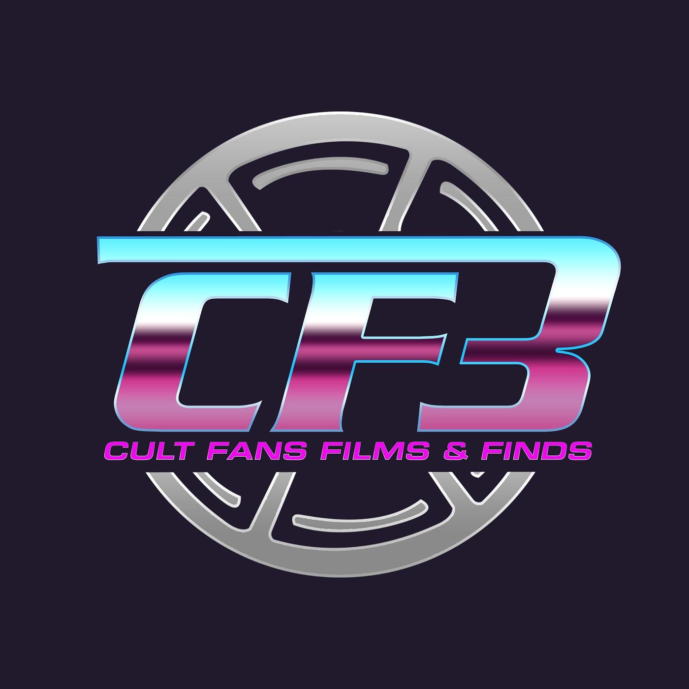 CF3: Cult Fans, Films & Finds show art