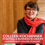 Artwork for 37 Starting a business in midlife with Colleen Kochannek
