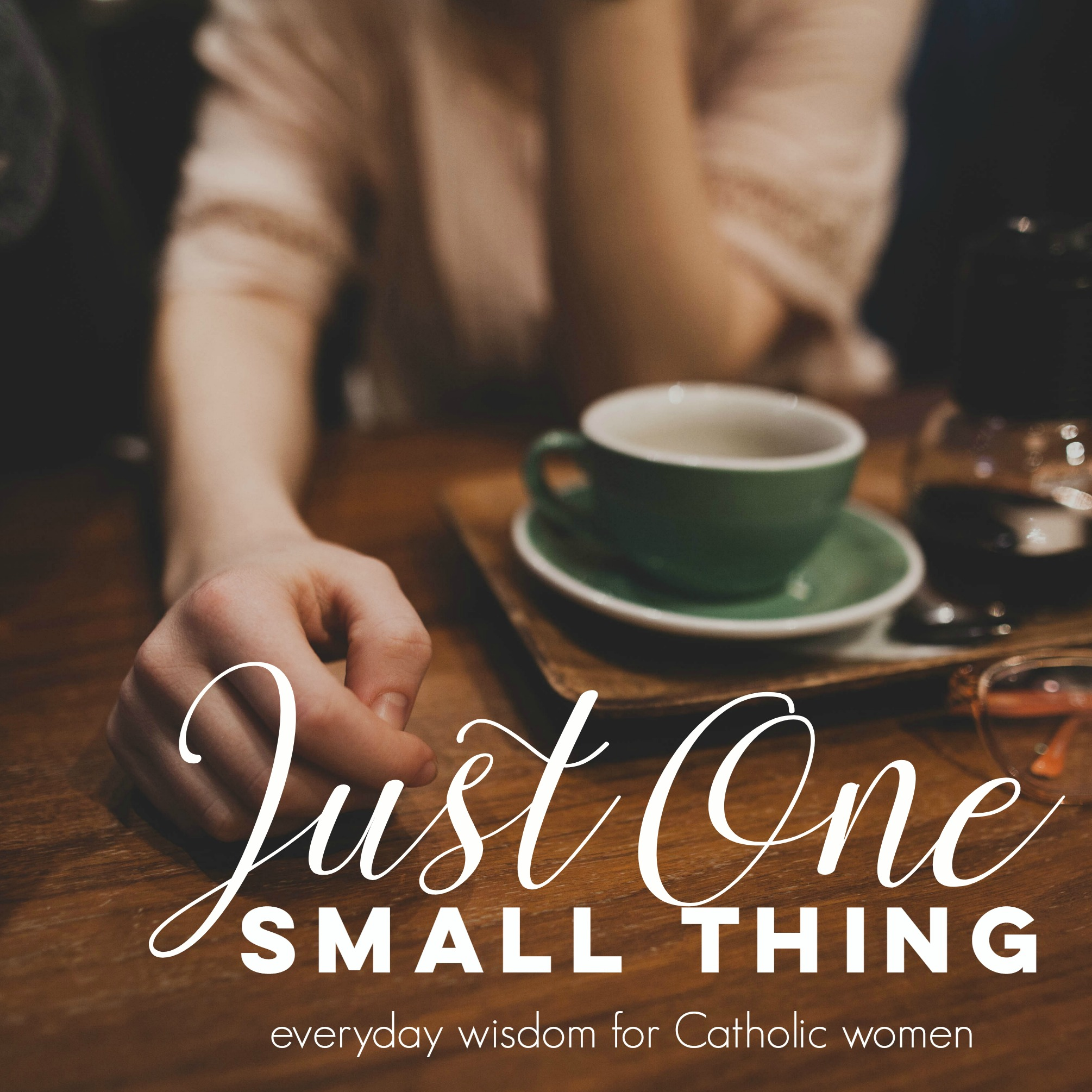 Just One Small Thing: Everyday Wisdom for Catholic Women show art