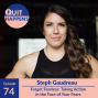 Artwork for Steph Gaudreau: Forget Fearless: Taking Action in the Face of Your Fears