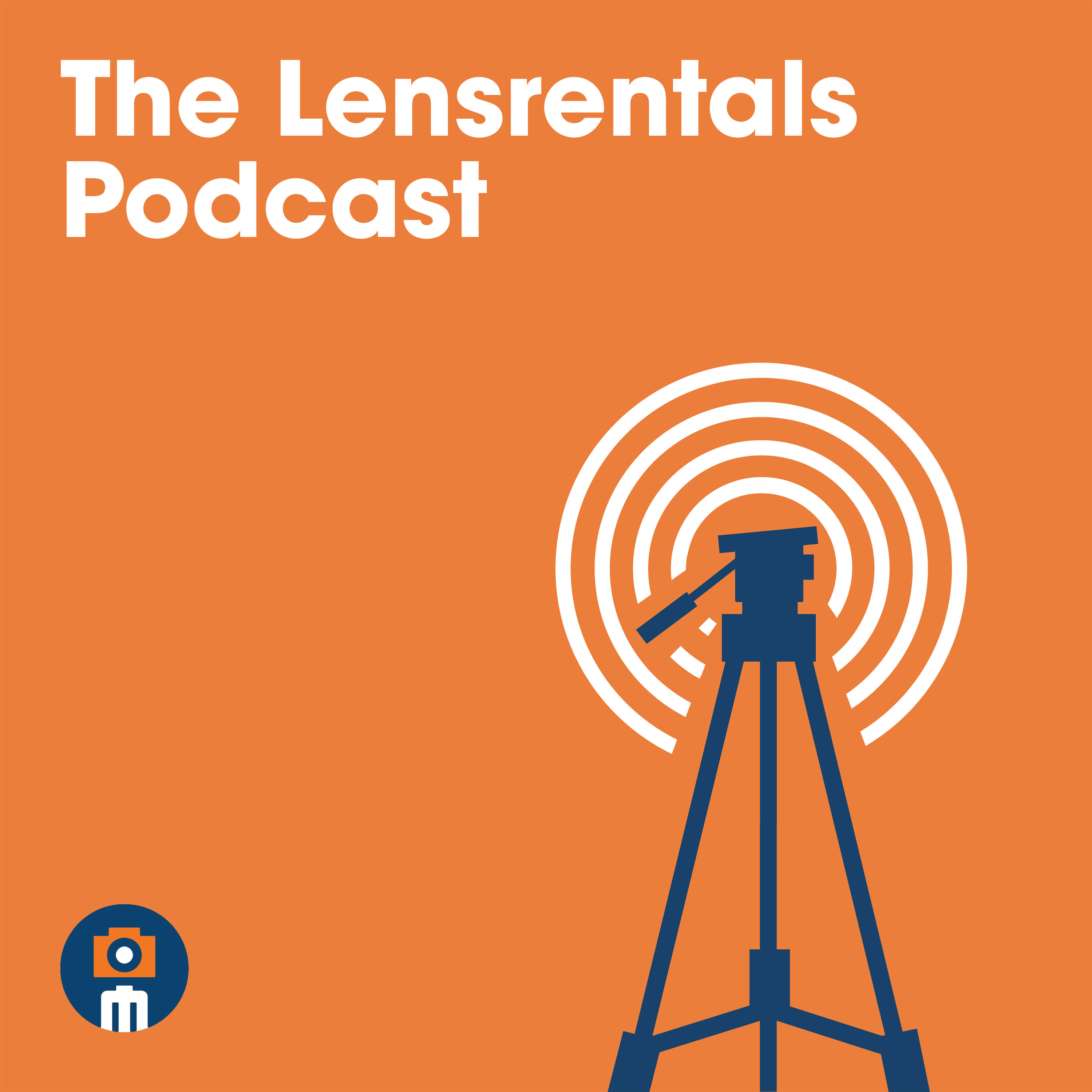 The Lensrentals Podcast show art