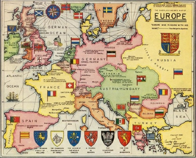 Episode 98: Europe and Sherlock Holmes