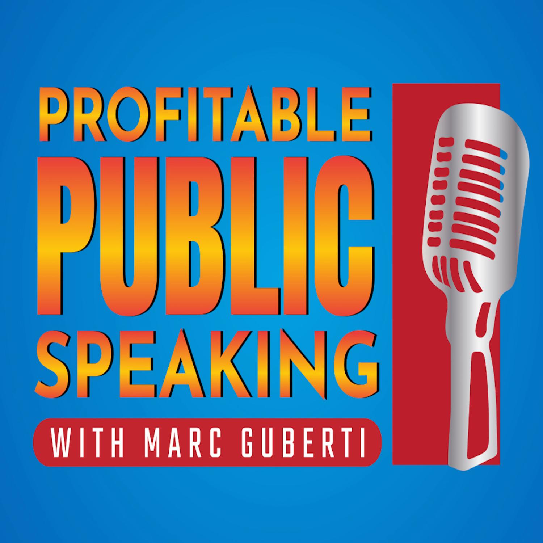 Profitable Public Speaking show art