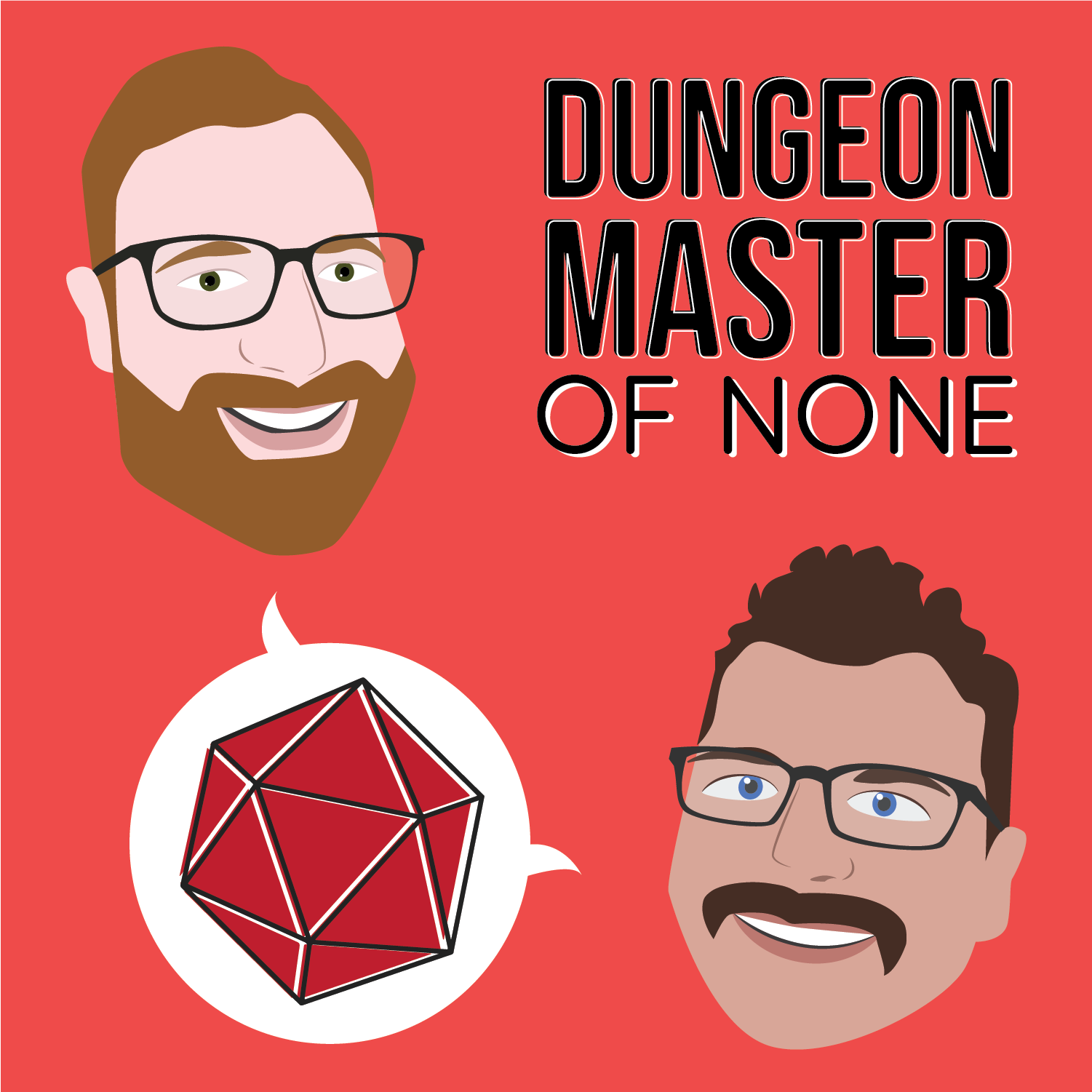 Dungeon Master of None show art
