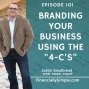 "Artwork for Branding Your Business Using the ""4-C's"""
