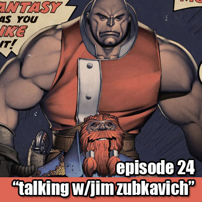 Episode 24 - Talking Skull Kickers with Jim Zubkavich
