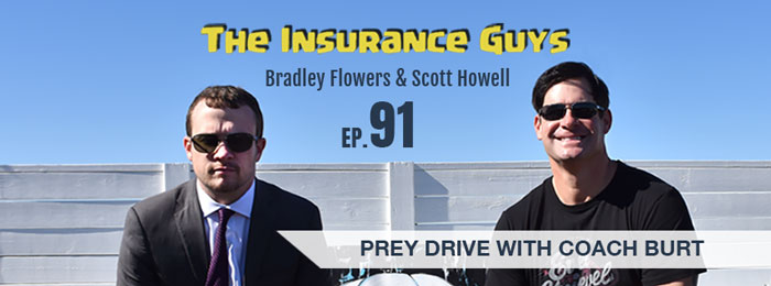 Coach Burt on the Insurance Guys Podcast