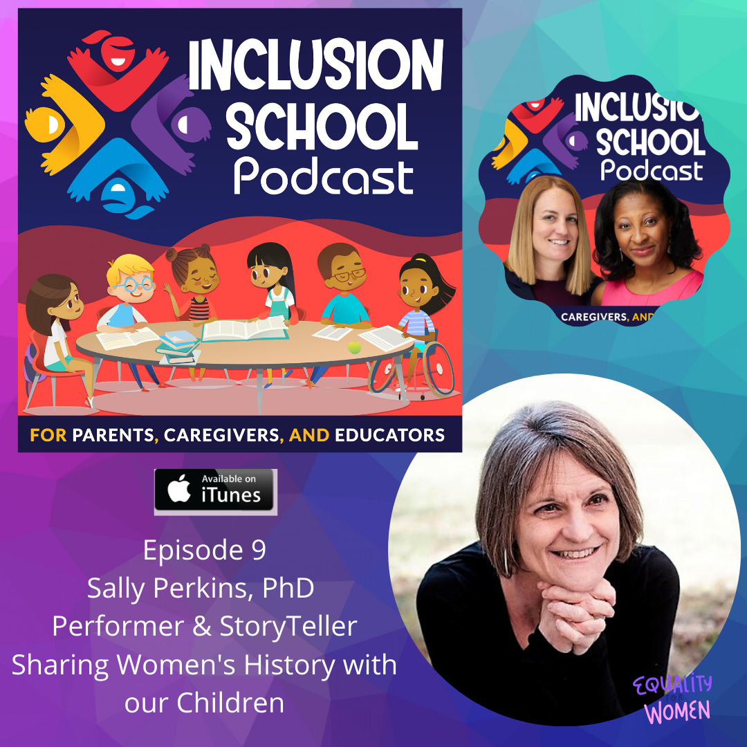 S1 Episode 9 - Why discussing Women's History is a must for our kids!
