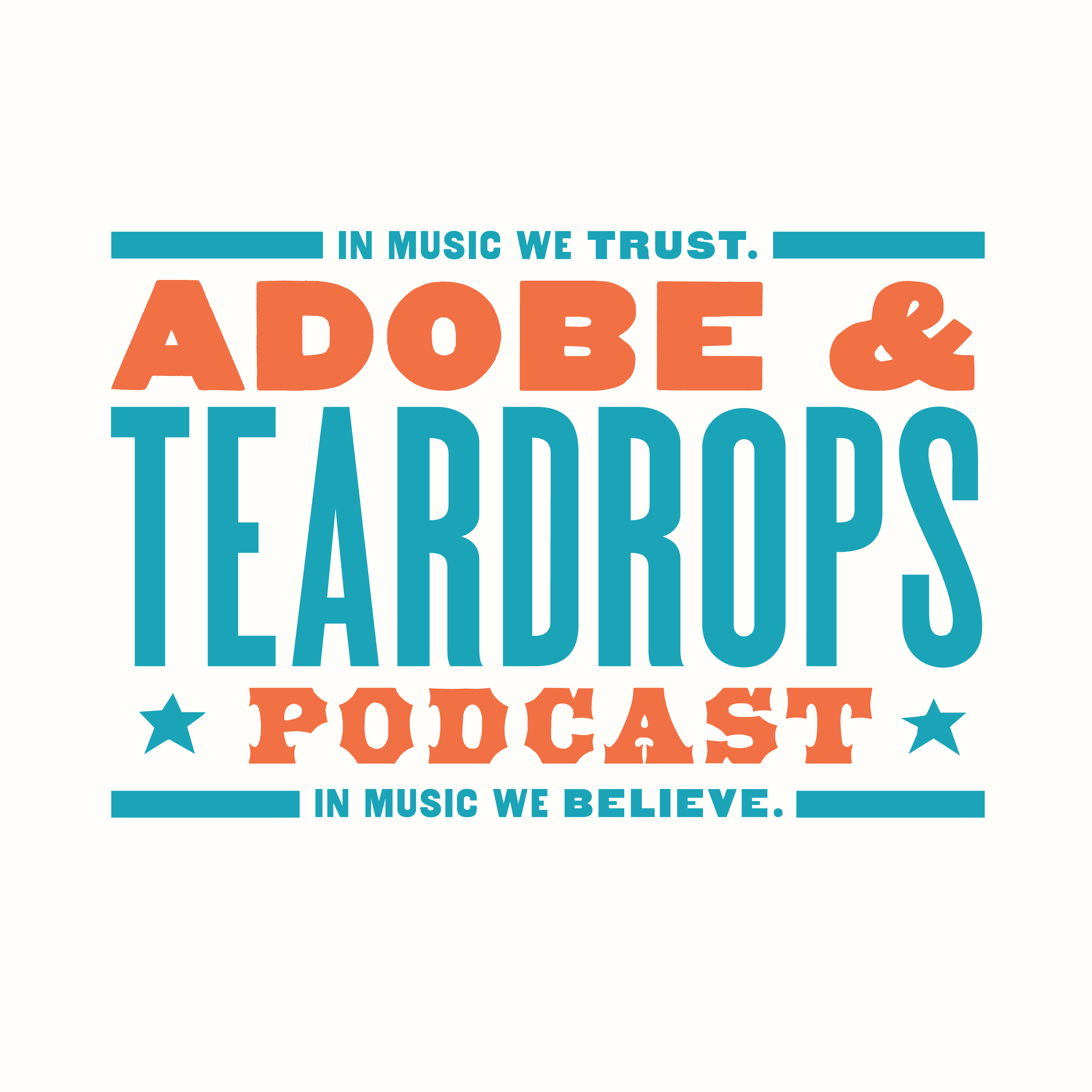 Adobe And Teardrops Podcast show art