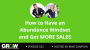 Artwork for How to Have an Abundance Mindset and Get MORE SALES: Episode 632