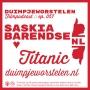 Artwork for 057 // Saskia Barendse ♥ Titanic // Duimpjeworstelen