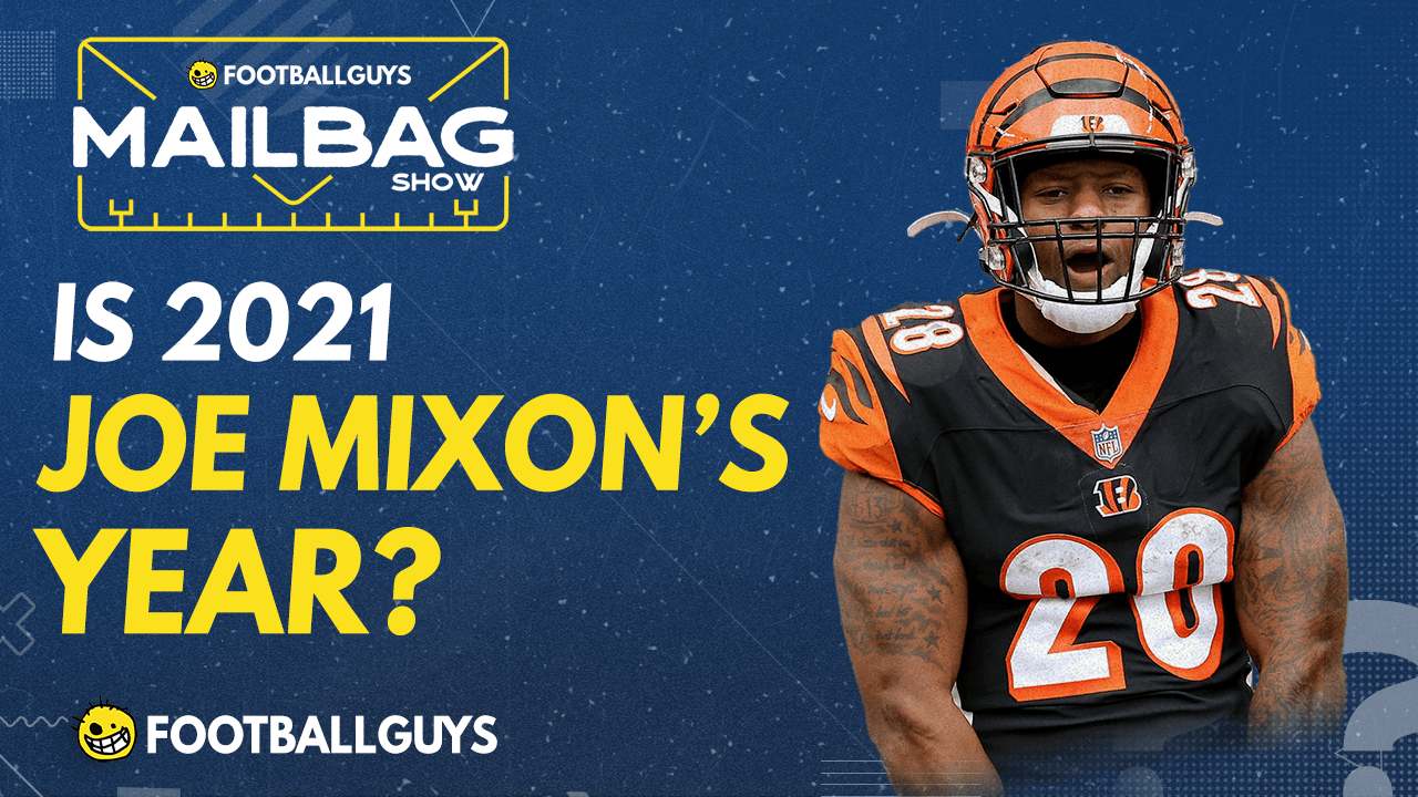 Will Joe Mixon see the largest workload of his career? - Fantasy Football 2021