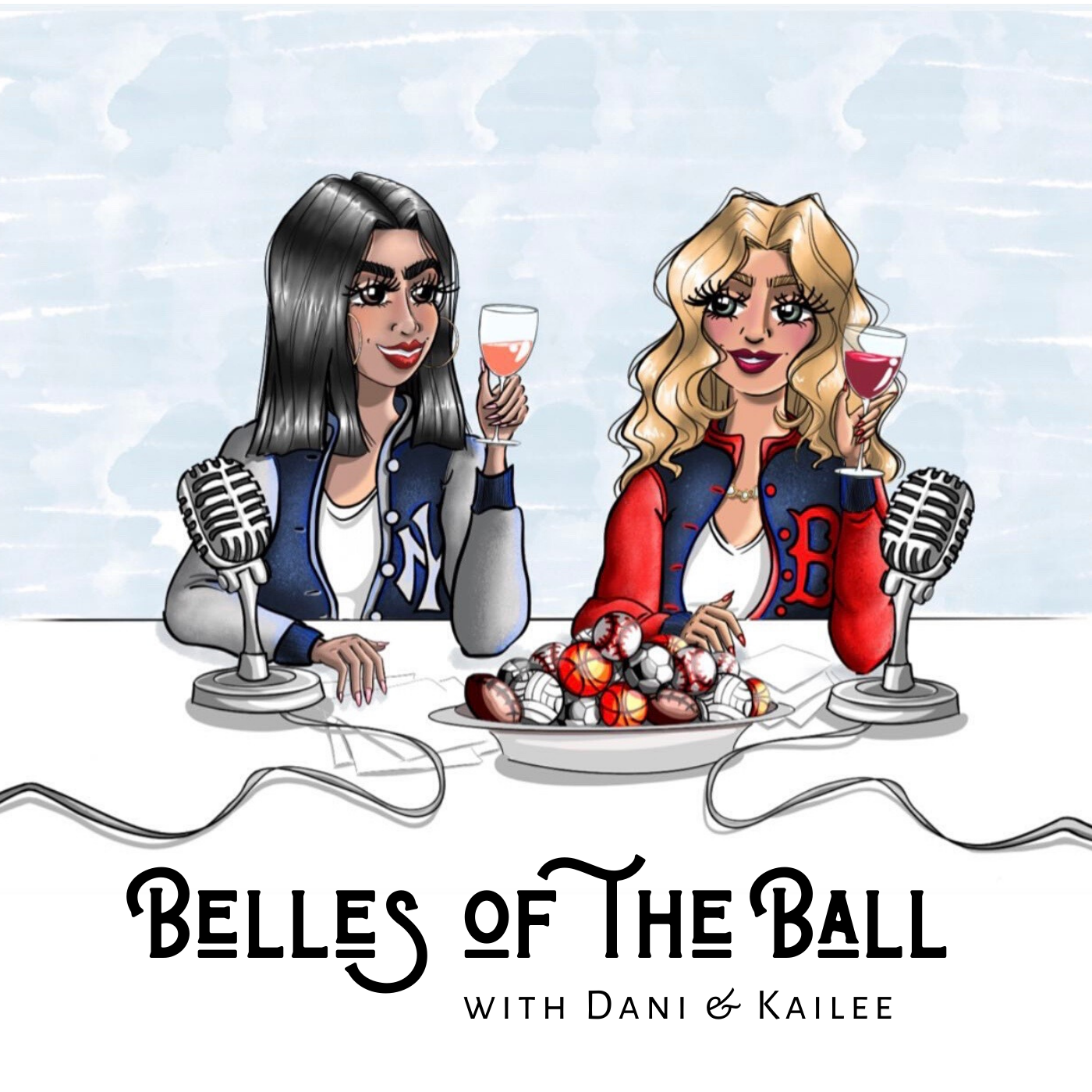 Belles of the Ball Podcast show art