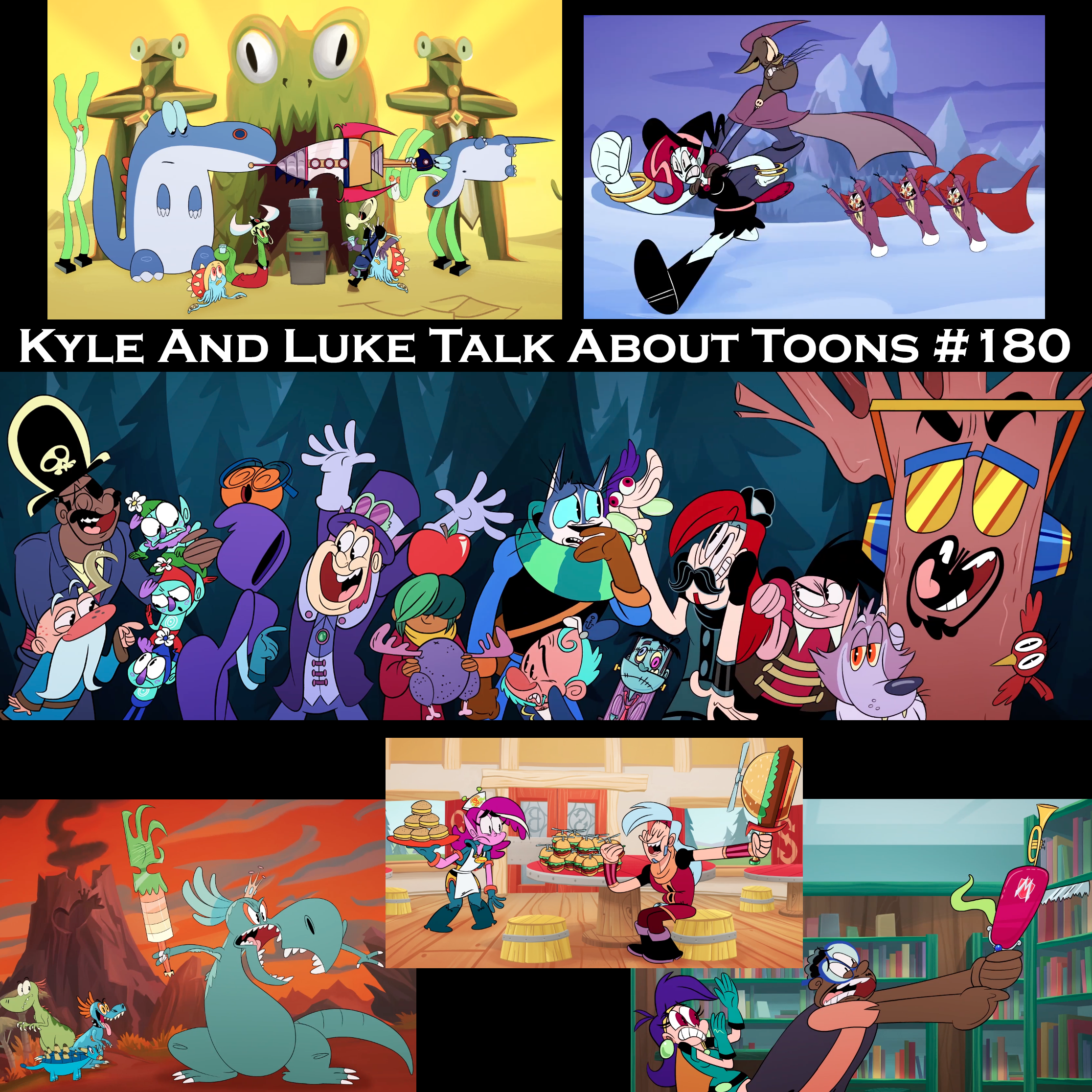 Kyle and Luke Talk About Toons #180: Bacon Bits