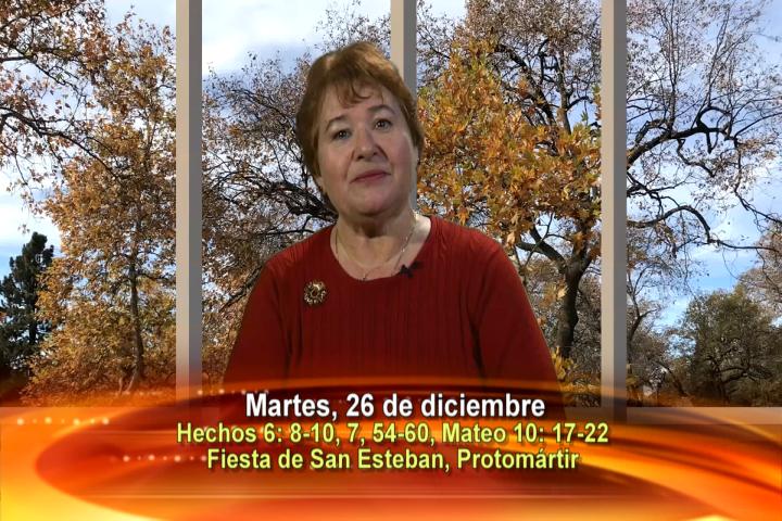 Artwork for Dios te Habla con Anne McCarthy;  Tema el hoy: Fiesta de san Esteban, protomártir