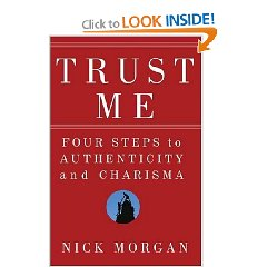 How to become a masterful presenter with Nick Morgan, author of Trust Me