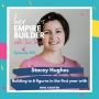 Artwork for 105: Building to 6 figures in the first year with one course with Stacey Hughes