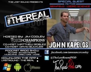 TRR #19 - John Kapelos - The Breakfast Club - Seinfeld