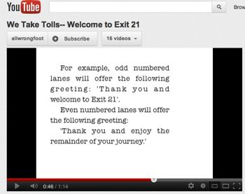 YouTube Promo for EP068--Welcome to Exit 21