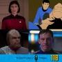 Artwork for 118: Star Trek's Unresolved Cliffhangers!