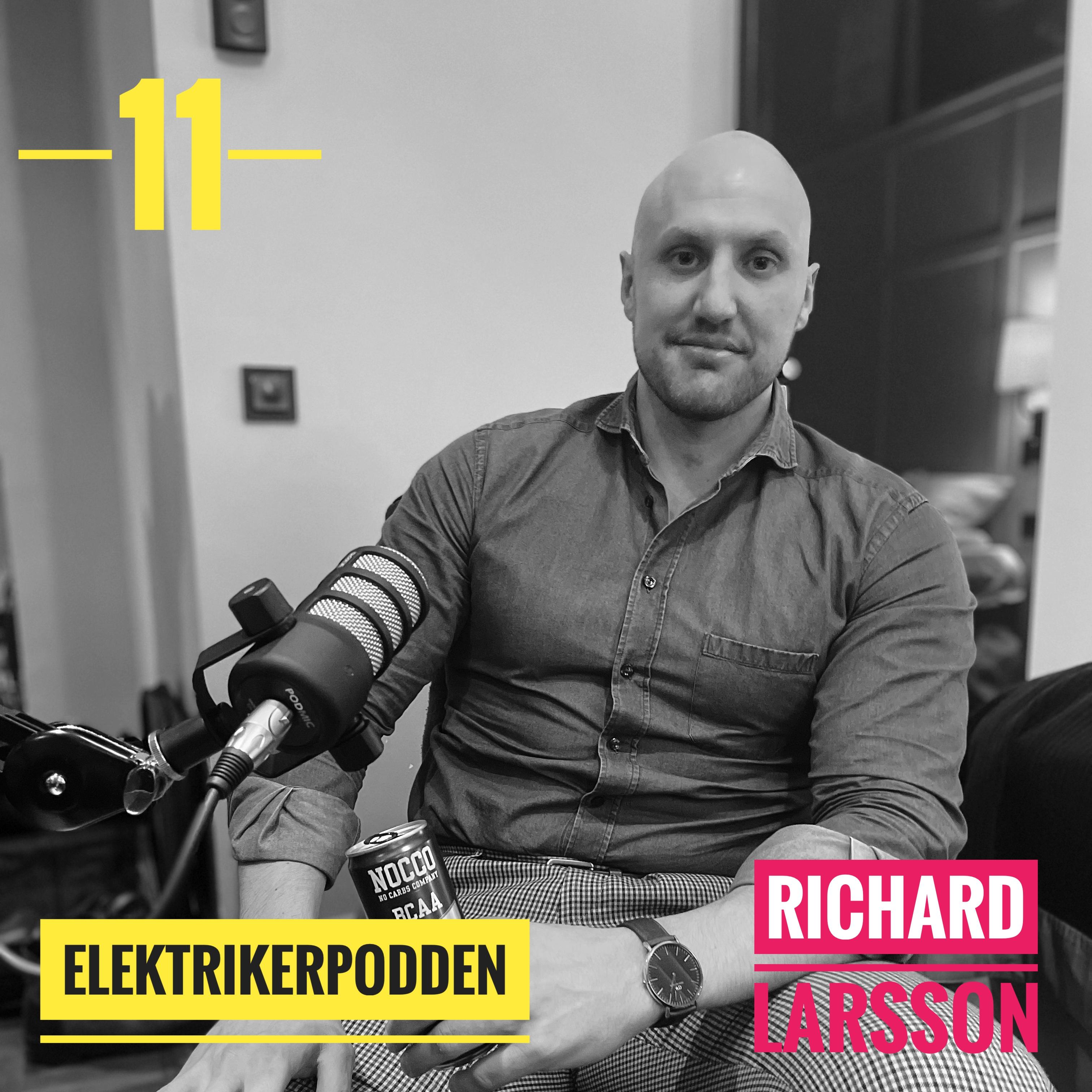 Richard Larsson - Snipersoldat och cybersäkerhets expert