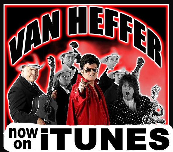 VAN HEFFER ALBUM IS ON iTUNES!