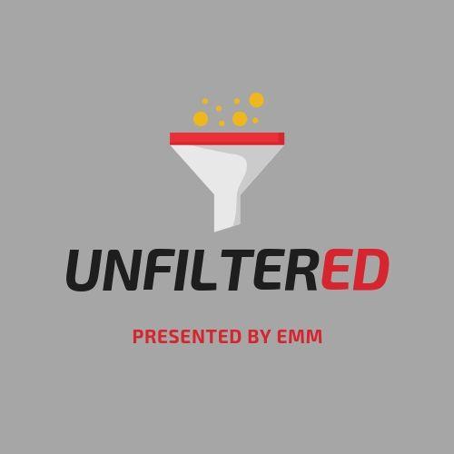 Artwork for UnfilterED #2: Lisa Raville & Dr. Josh Blum