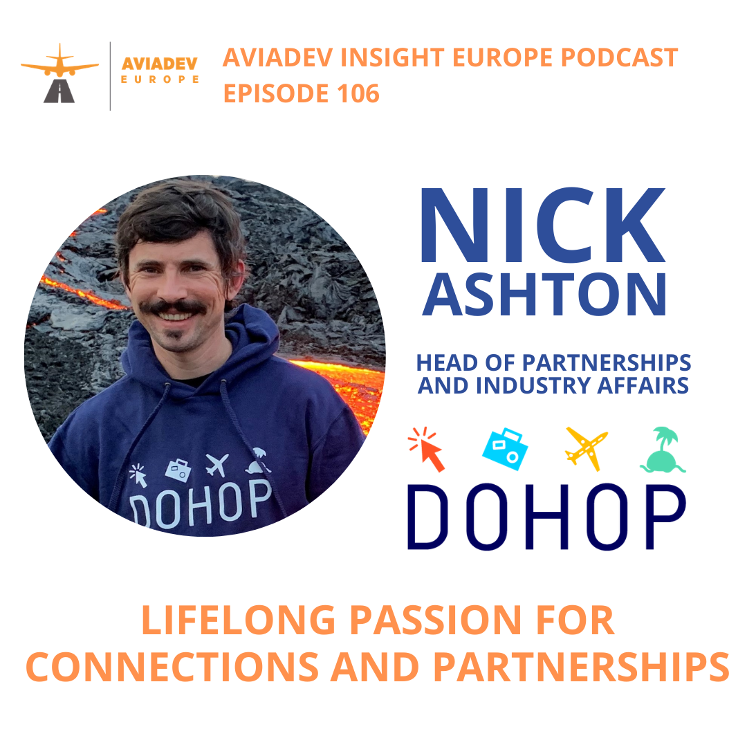 Episode 106 with Nick Ahston from DOHOP: Lifelong passion for connections and partnerships