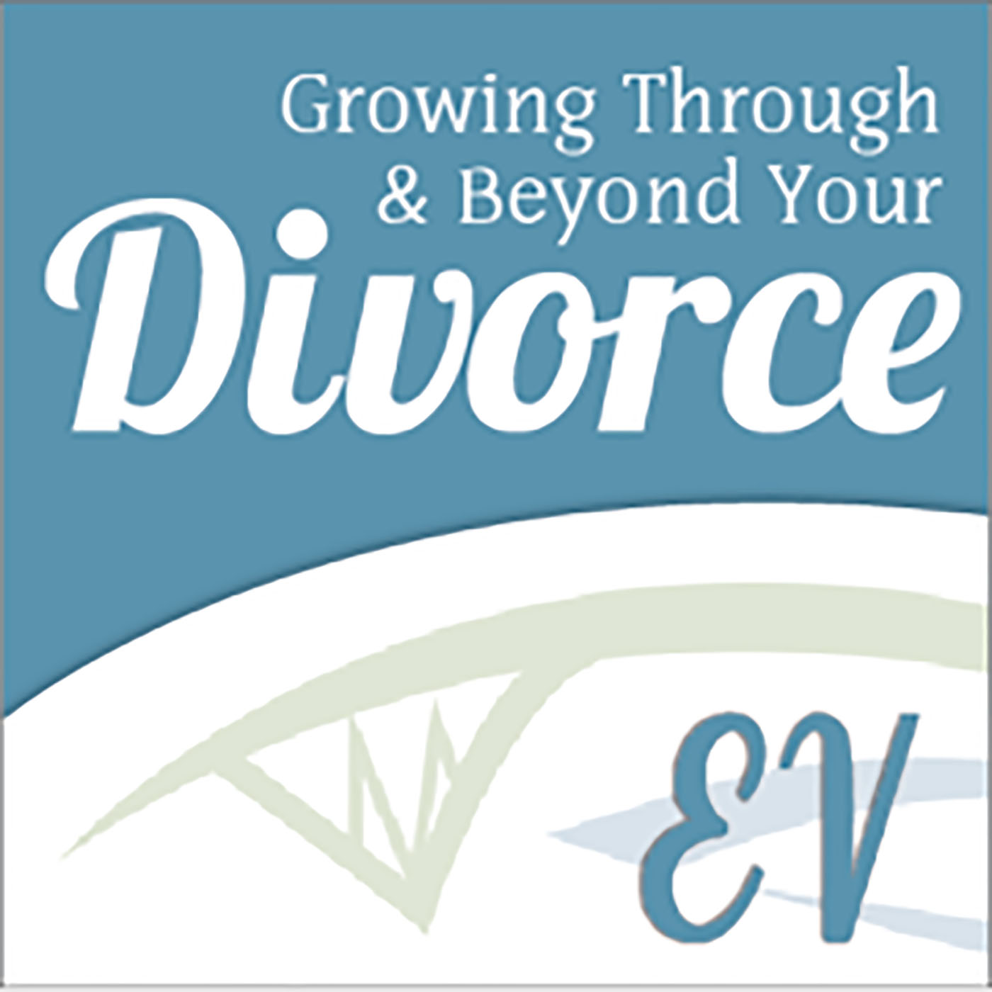 Growing Through & Beyond Divorce show art