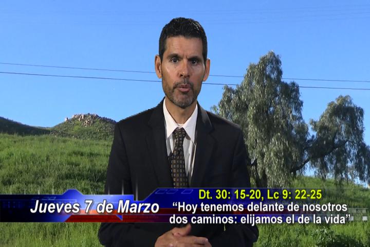 """Artwork for Dios te Habla con Jose Luis Elias;  Tema el hoy:  """"Hoy tenemos delante de nosotros dos caminos: elijamos el de la vida"""""""