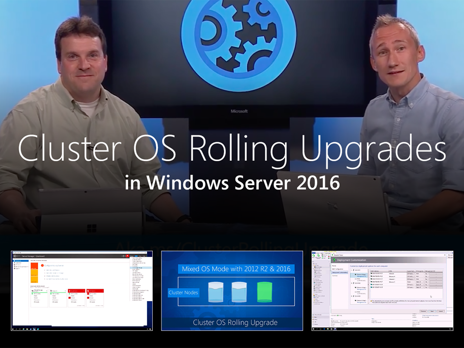 Artwork for Introducing Cluster OS Rolling Upgrades in Windows Server 2016