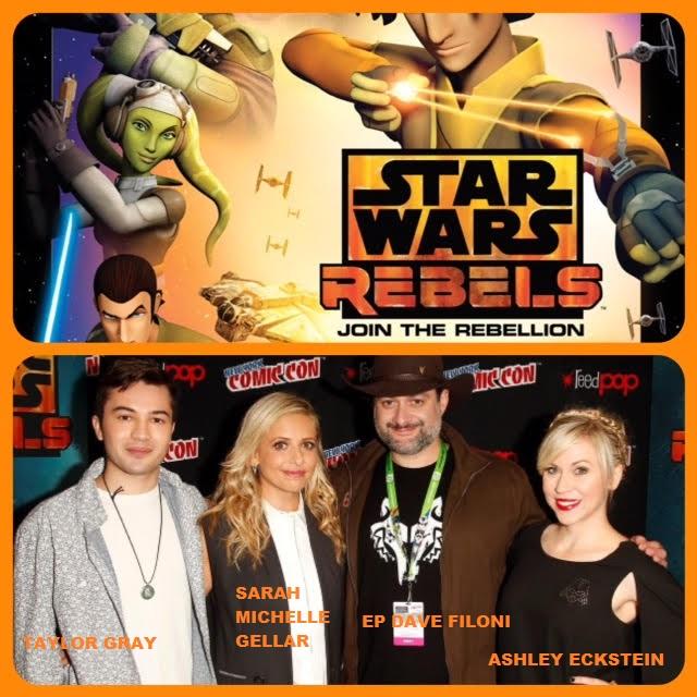 Episode 652 - NYCC: Star Wars Rebels w/ Sarah Michelle Gellar/Ashley Eckstein/Taylor Gray/EP Dave Filoni!