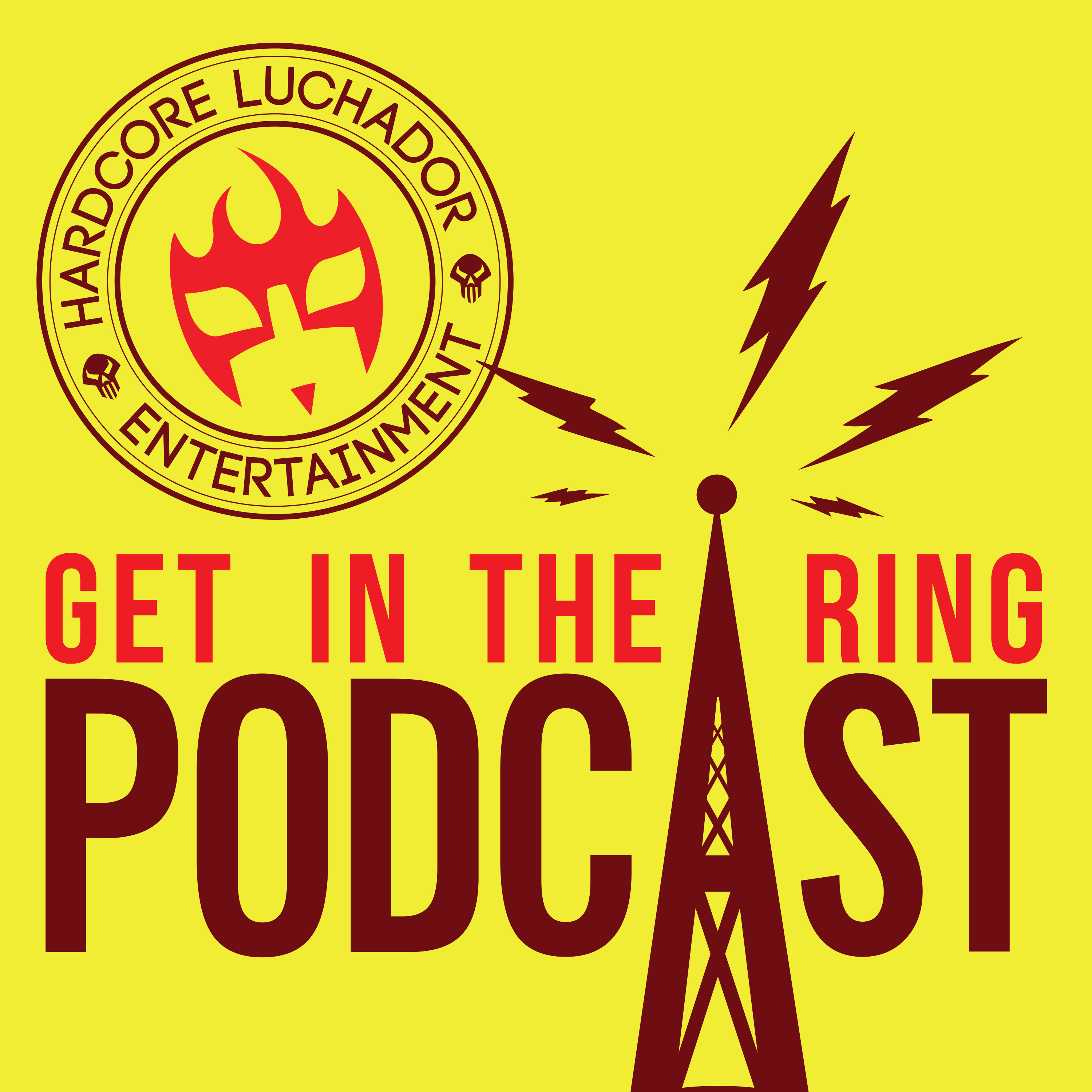 Get In The Ring - A Wrestling, Video Games, and Comics Podcast logo