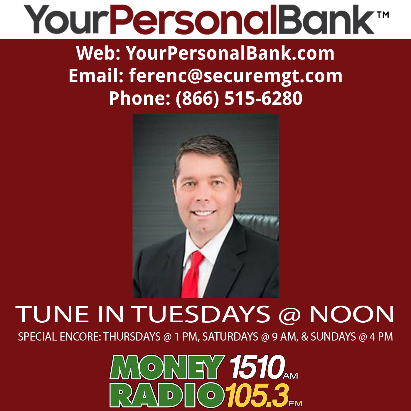 Your Personal Bank show art