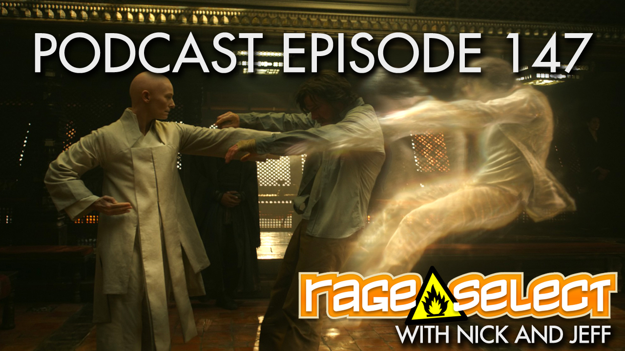 Rage Select Podcast Episode 147 - Nick and Jeff Answer Your Questions!