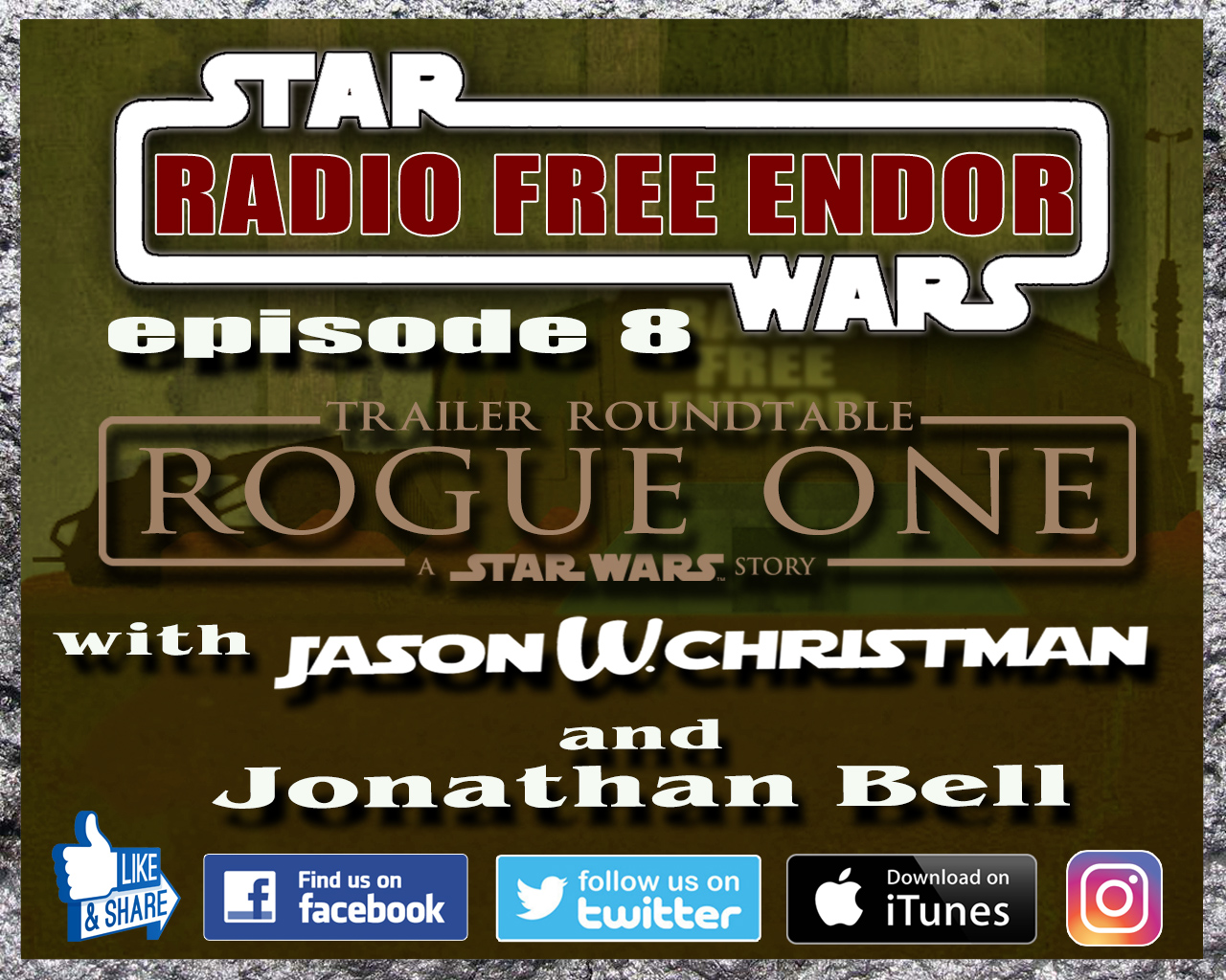 Rogue One Trailer Roundtable - s2e8 Radio Free Endor