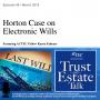 Artwork for Horton vs. Jones Case on Electronic Wills