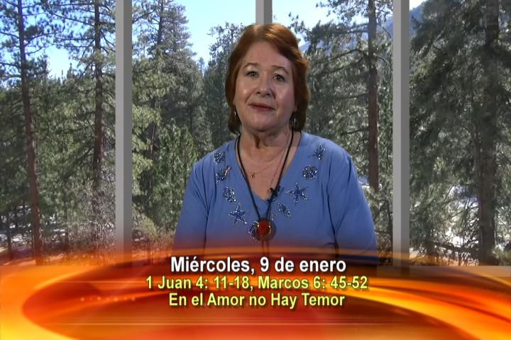 """Artwork for Dios te Habla con Anne McCarthy; Tema el hoy: """"En el amor no hay temor"""""""