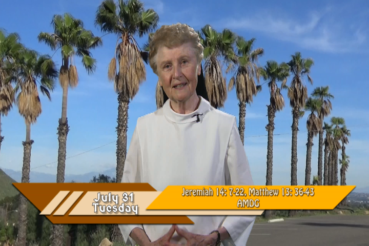 Artwork for iGod Today with Sr. Jeanne Harris, OP; Today's topic:  AMDG