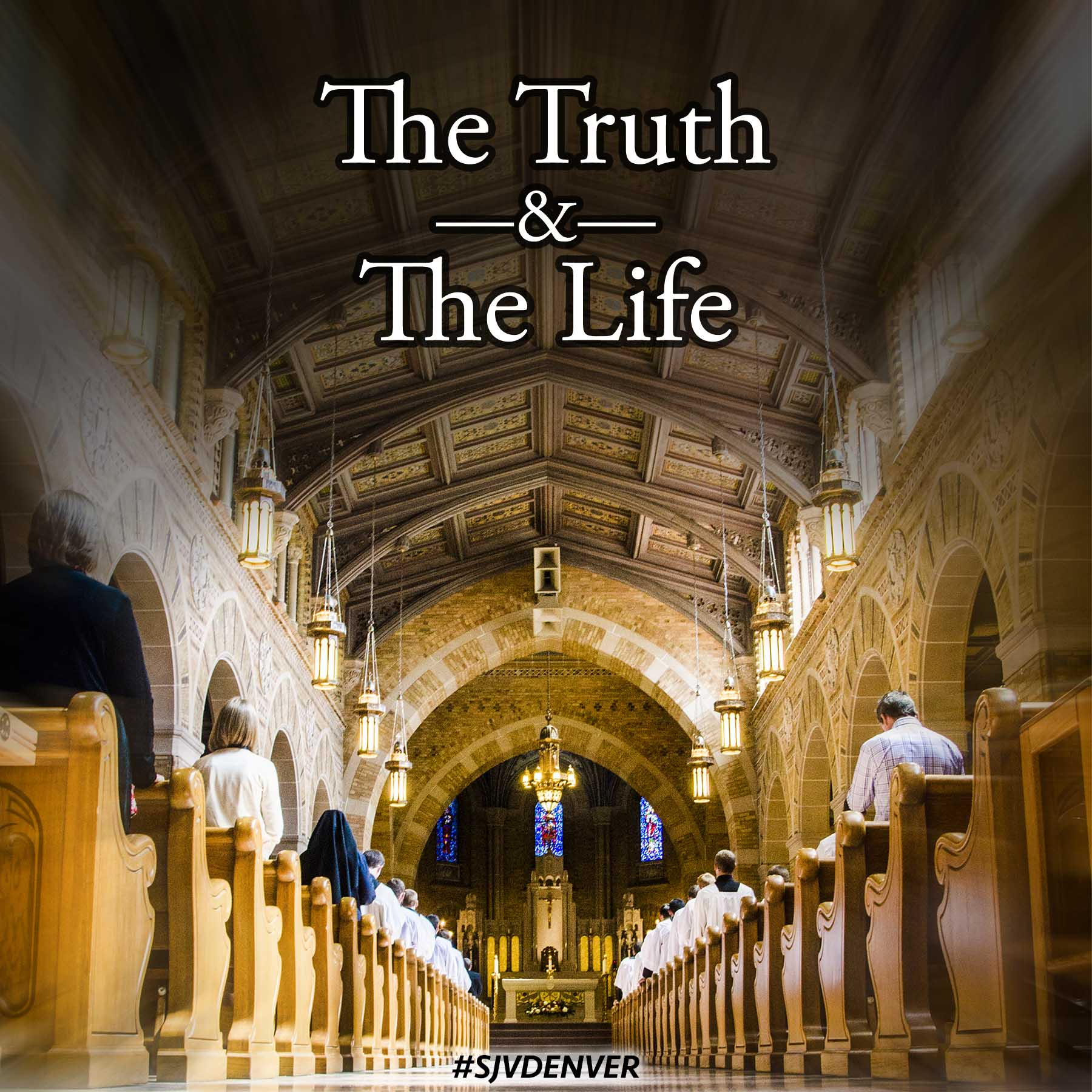 The Truth and the Life Podcast logo